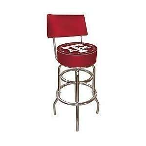 Bar Stool with Back   Game Room Products > Pub Stools > NCAA