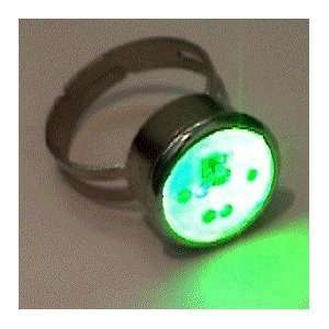 Color Changing LED Light UP Mood Ring  Toys & Games