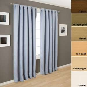 108 Long Mette Circles Curtain Panel: Home & Kitchen