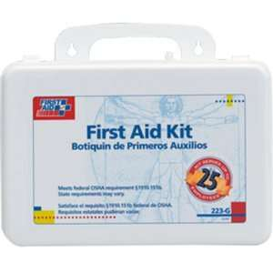 25 Person, 106 Piece Medical Kit w/Gasket (Plastic)
