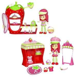 Strawberry Shortcake Mini Playsets Wave 1: Toys & Games