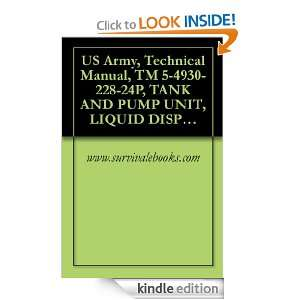 Army, Technical Manual, TM 5 4930 228 24P, TANK AND PUMP UNIT, LIQUID