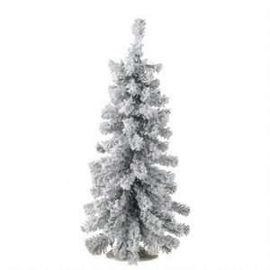 Small Frosted Snow Mini Flecked Pine Christmas Tree