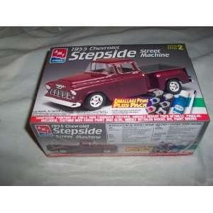 1955 Chevrolet Stepside Street Machine Sealed Model Kit Toys & Games