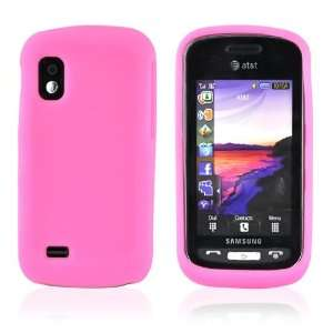 for Samsung Solstice A887 Silicone Skin Case HOT PINK