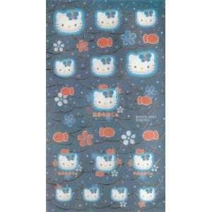 Hello Kitty Sticker Sheet, Fabric Japanese Fish Office