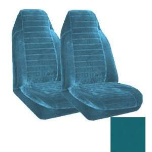 Universal Fit High Back Encore Pattern Front Bucket Seat Cover   Ocean