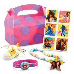 Disney Shake It Up Party Favor Box Party Accessory Toys