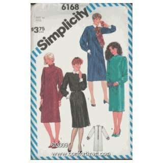 Tucked Dress, Simplicity 6168 Simplicity Pattern Co Inc Books