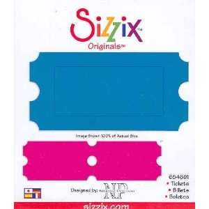 Sizzix Originals TICKETS Die RED 654691  Home & Kitchen
