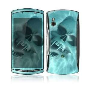 Underwater Vampire Skull Design Decorative Skin Cover