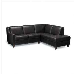 Sofas to Go AL DEXT OAC SEN GR/LAL SEN Ely Leather