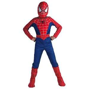 Deluxe Kids Spiderman Costume: Toys & Games