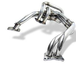 Stainless Steel Exhaust Manifold Header   Subaru WRX 2002 2006