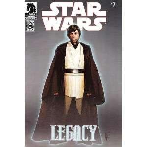 Star Wars Legacy #7 Comic Book John Ostrander Books