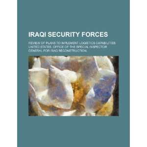 Iraqi security forces review of plans to implement