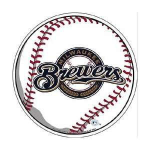 SET OF 3 MILWAUKEE BREWERS DIE CUT PENNANT