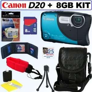 PowerShot D20 12.1 MP CMOS Waterproof & Shockproof Digital Camera