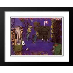 Raoul Dufy Framed and Double Matted Art 33x41 Nogent Sur
