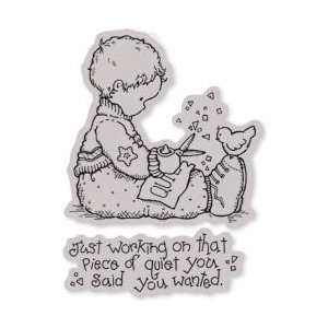 Penny Black Cling Rubber Stamp 4X5: Arts, Crafts & Sewing