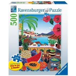 Ravensburger Taste Of Paradise   500 Pieces Large Format