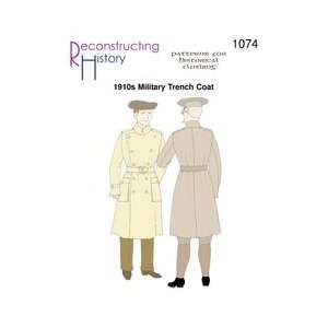 1910s Military Trench Coat Arts, Crafts & Sewing