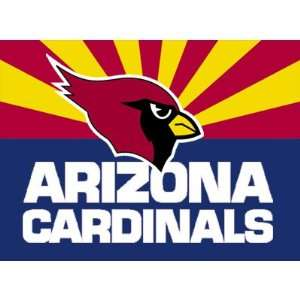 Arizona Cardinals Logo Transfers Rub On Stickers/Tattoos (3 Pack
