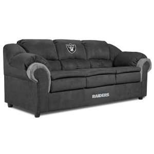 Oakland Raiders NFL Team Logo Pub Sofa