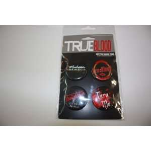 True Blood Button Badge Pack   4 Ct Everything Else