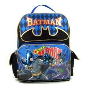 com Batman Vs. Joker 15 Large Backpack   Jokers Wild Toys & Games