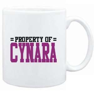 Mug White  Property of Cynara  Female Names