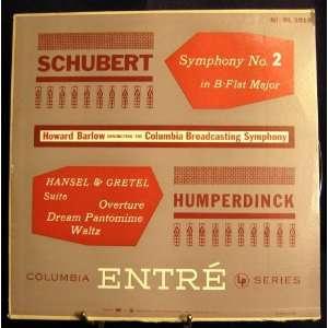 Symphony No. 2 in B Flat Major Hansel & Gretel Suite; Overture; Dream