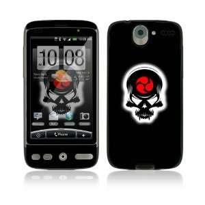 HTC Desire Skin   Samurai Death Skull