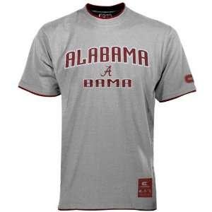 Alabama Crimson Tide Grey Youth Double Layer T shirt