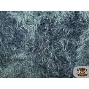Faux / Fake Fur POLAR BEAR DENIM Fabric BTY Everything