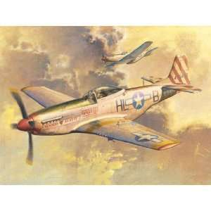 P 51D Mustang IV Fighter 1 32 Trumpeter Toys & Games
