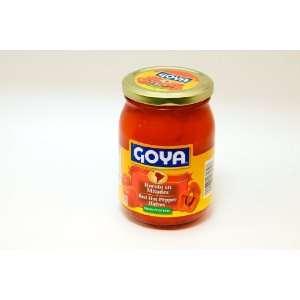 Goya Red Hot Pepper Halves   Rocoto En Mitades 15 oz