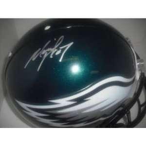 Michael Vick Signed Helmet   Autographed NFL Helmets