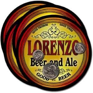 Lorenzo, TX Beer & Ale Coasters   4pk: Everything Else