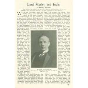 1911 Lord Morley India John Morley