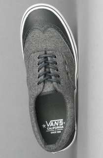 The Era Wingtip CA Sneaker in Dark Shadow Charcoal : Vans : Karmaloop