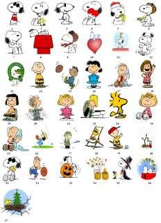 Snoopy Peanuts Cartoon Return Address Labels Favor Tag