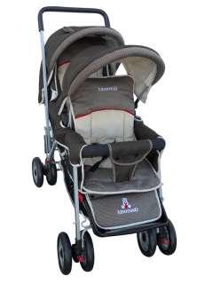 DOUBLE Stroller Baby Strollers Amoroso 2 Seats Multiple Multi Twin