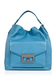 Jacobs  Vintage Blue Front Pocket Bianca Hobo by Marc By Marc Jacobs