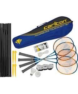 Buy Carlton Powerblade Tournament 4 Person Badminton Set at Argos.co