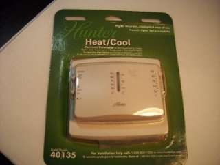 Hunter Heat/Cool Electronic Thermostat