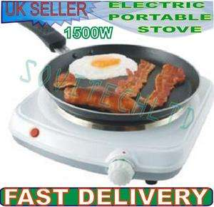 1500W SINGLE HOB / ELECTRIC PORTABLE STOVE / TABLE TOP