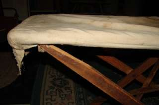 VINTAGE   ANTIQUE WOODEN IRONING BOARD