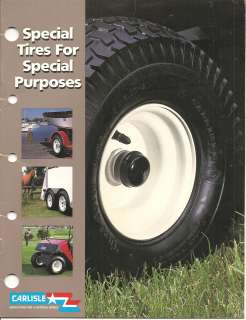 Carlisle Tire and Rubber Tires Wheels Garden Tractor Tiller Golf Cart
