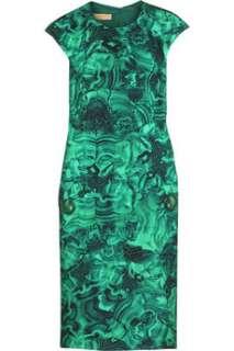 Michael Kors  Malachite print dress  NET A PORTER